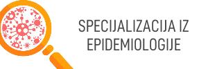 Ovlašteni smo za specijalizaciju iz epidemiologije